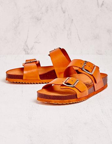 Deerberg Pantoletten Tomma orange