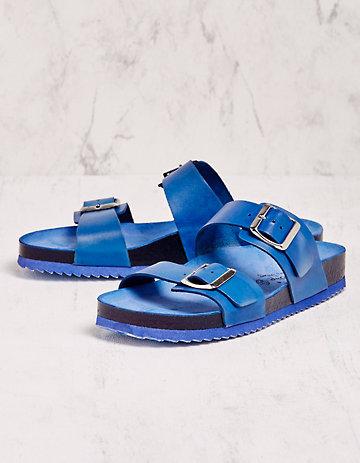 Deerberg Pantoletten Tomma blau