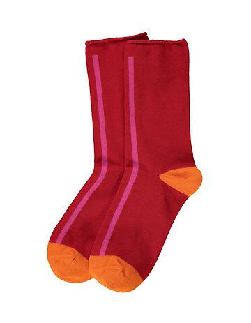 LIBERTAD Socken Ollga rot