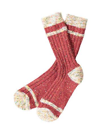 Crönert Socken Rabea dunkelrot