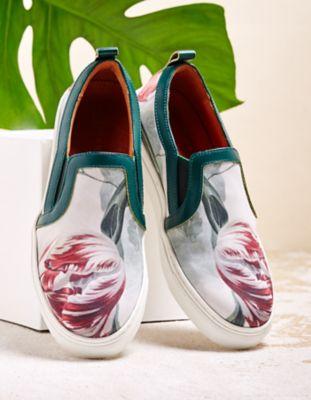 Linkkens Sneaker Ebru grün