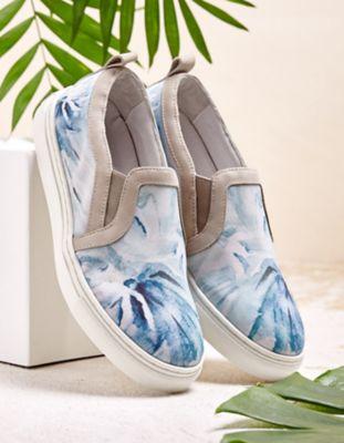 Linkkens Sneaker Ebru hellblau