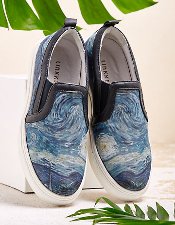 Linkkens Slipper Ebru marine