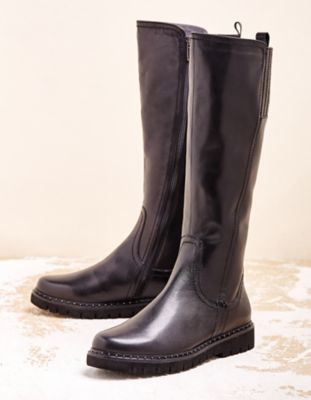 Be Natural Stiefel Talesia schwarz