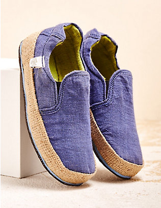 Sole Rebels Slipper Keep On blau