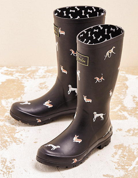 Joules Stiefel Roll Up Welly