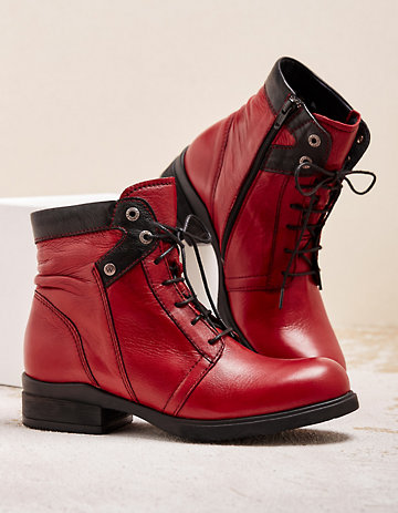Wolky Stiefeletten Center rot