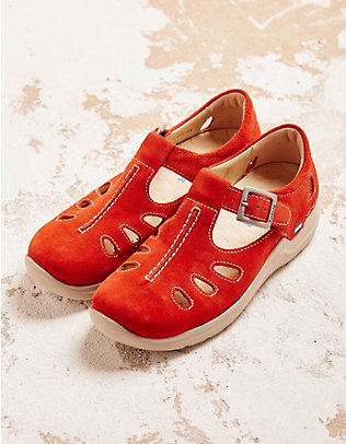 Wolky Spangenschuhe Lisse rot