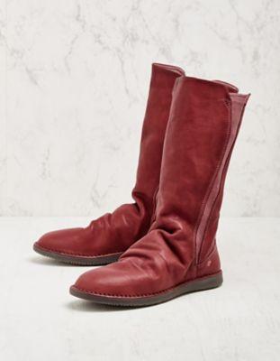 Softinos Stiefel Teya rot