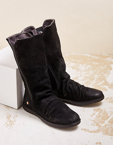 Softinos Stiefel Teya schwarz