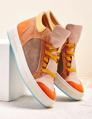 Chaaya Sneaker Shakti Rainbow orange