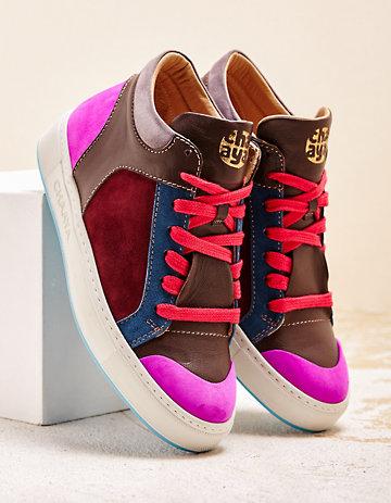 Chaaya Sneaker Shakti Rainbow pink