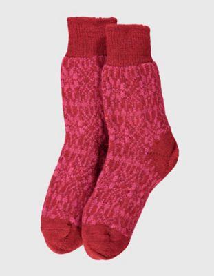 Deerberg Socken Sterne rot-beere