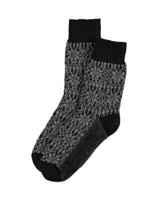 Deerberg Socken Sterne schwarz
