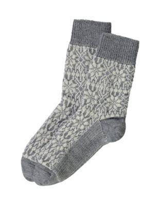 Deerberg Socken Sterne grau-beige
