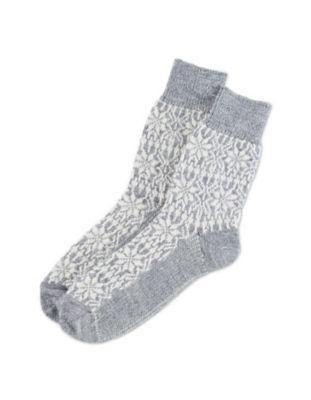 Deerberg Socken Sterne grau-glitzer