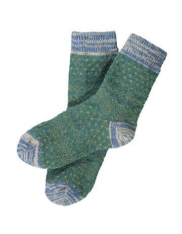 Crönert Socken Aribella dunkelgrün