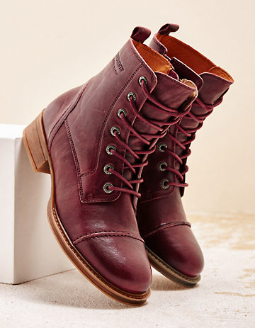 Ten Points Stiefeletten Deifila bordeaux