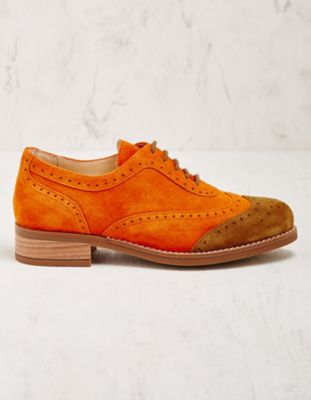 Deerberg Halbschuhe Mercilla orange