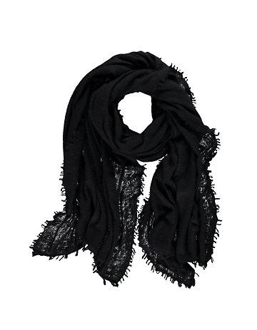 Schal Latifa schwarz