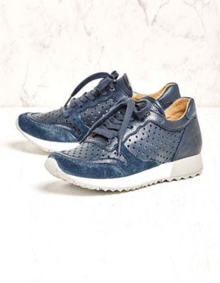 Martin Natur Sneaker Fanja jeansblau