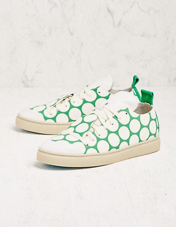 Chaaya Sneaker Natanja grün