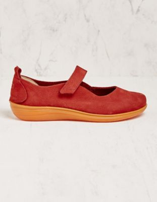 Loints of Holland Spangenschuhe Alkje rot