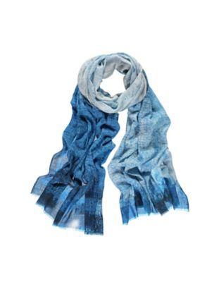 Deerberg Schal Odalinde blau