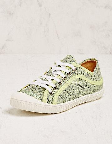 Deerberg Sneaker Obuna grün