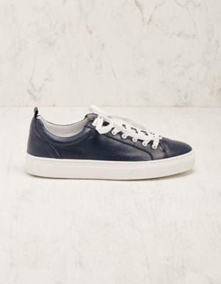 Deerberg Leder-Sneaker Toshi marine