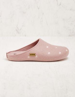 Haflinger Hausschuhe Birgitta rosa