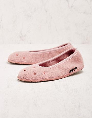 Haflinger Hausschuhe Bertolda rosa