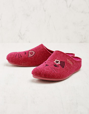 Thies Hausschuhe Hedre pink