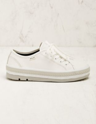 Wolky Leder-Sneaker Minoa creme
