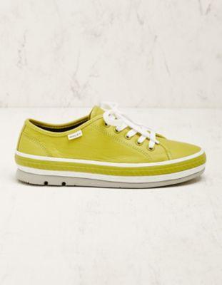 Wolky Leder-Sneaker Minoa limette