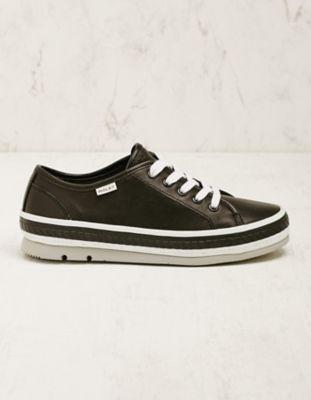 Wolky Leder-Sneaker Minoa schwarz