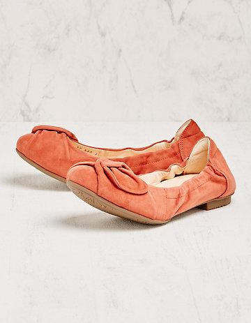Think Ballerinas Tamra orange