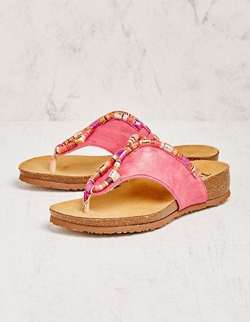 Think Pantoletten Sabira pink