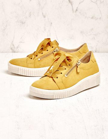 Gabor Sneaker Laquita gelb
