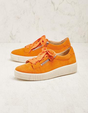 Gabor Veloursleder-Sneaker Laquita orange