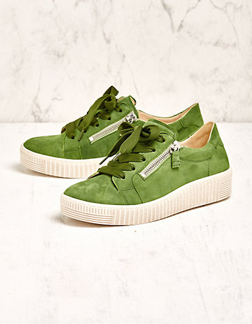 Gabor Sneaker Laquita grün