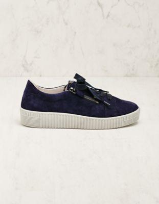 Gabor Veloursleder-Sneaker Laquita blau