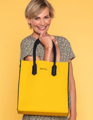 Deerberg Tasche Le Sac gelb