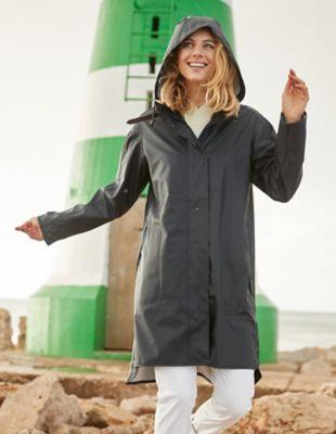 Ilse Jacobsen Regenmantel Rain marine