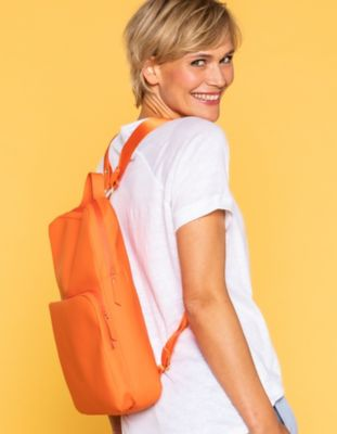 Ilse Jacobsen Rucksack Rainbag orange
