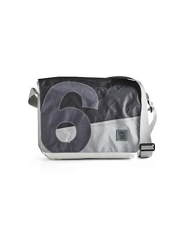 360° Tasche Barkasse grau-weiß
