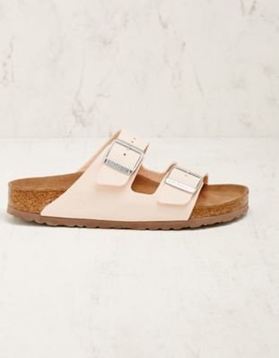 Birkenstock Vegan-Pantoletten Arizona rose