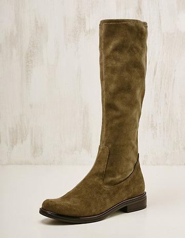 Caprice Textil-Stiefel Benigna oliv