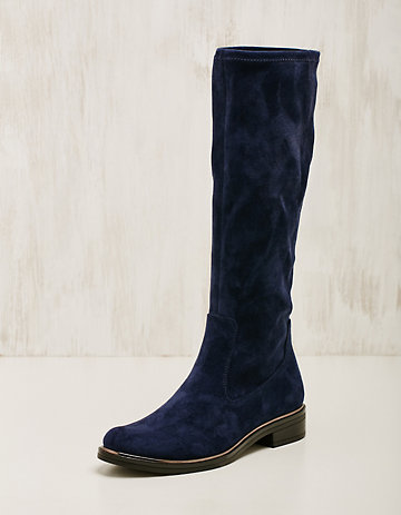 Caprice Textil-Stiefel Benigna marine