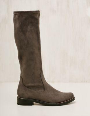 Caprice Textil-Stiefel Benigna mittelgrau
